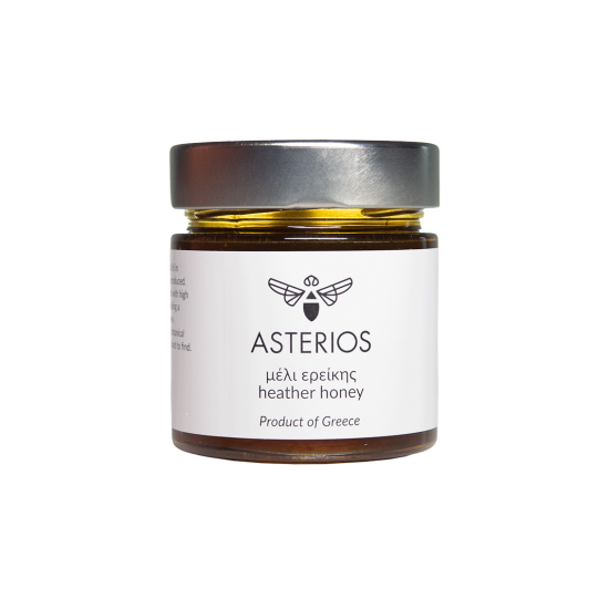 Heather Honey Asterios 280 grams Asterios PRODUCTS