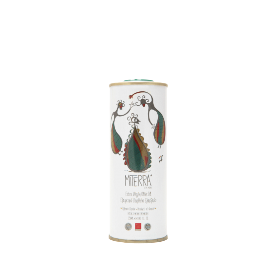 Extra Virgin Olive Oil 250 ml Miterra Earth (Tin Can) PRODUCTS