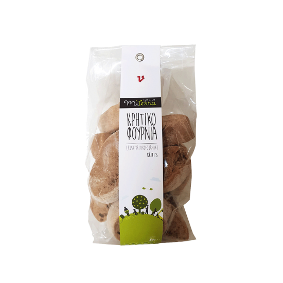 Rusk Kritikofournia 400 grams Miterra Earth PRODUCTS