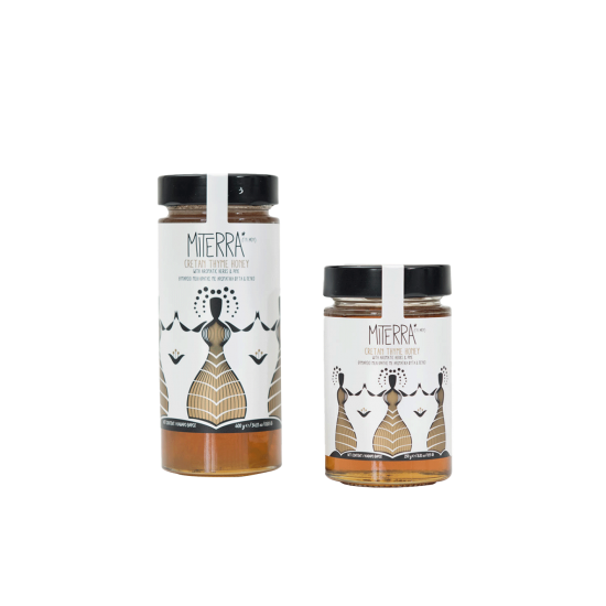 Thyme Honey With Aromatic Herbs And Pine 250 grams Miterra Earth PRODUCTS